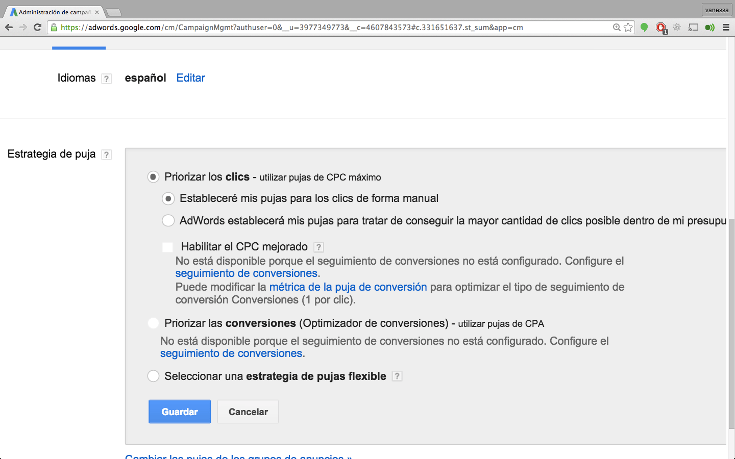GOOGLE ADWORDS PUJAS 2