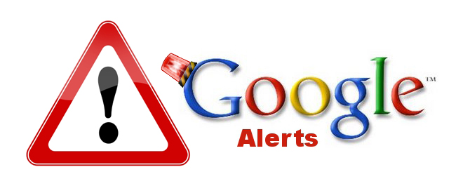 how to turn on google alerts