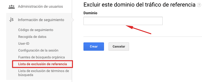 seguimiento multidominio google analytics